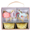 I believe in unicorns cupcale kit - Einhorn-Geburtstagsparty