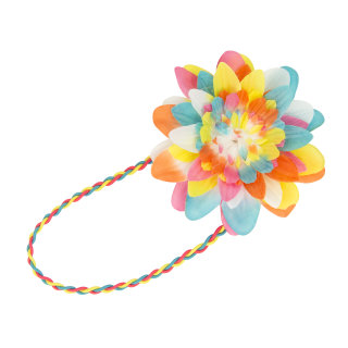 Haarband Multicolor Blume