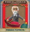 Fingerpuppen Freud and couch zum heiteren Psychoanalyse...