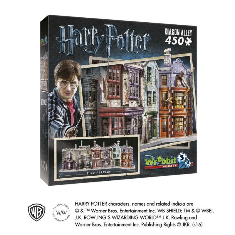 3d Puzzle Harry Potter Winkelgasse Mit 450 Teilen Originell Schenken