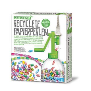 Recyclete Papierperlen - englische Version
