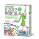 Recyclete Papierperlen - deutsche Version